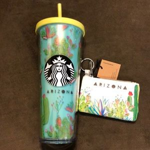 Starbucks Arizona Cup and Coin Purse
